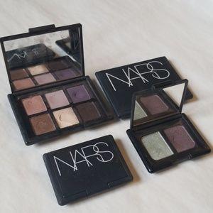 Lot of 4 NARS Eyeshadow Palettes